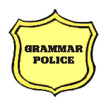Grammar Police - Apparel