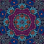 Analog Art Mandala