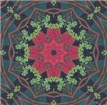 Yule Art Mandala