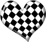 Checkers Flag HEART
