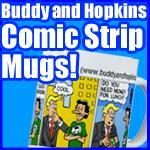 Comic Strip Mugs