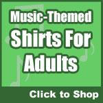 Funny Music Shirts