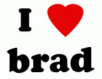 I Love brad