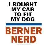 Berner Nerds: I Bought My Dog to Fit My Car