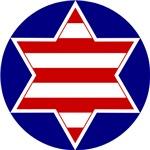 Hebrew Flag Emblem