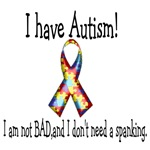I have autism... I am not bad..