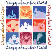 CRAZY ABOUT CATS!