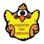 VEGETARIANS HAVE COMPASSION