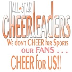 cheer for us