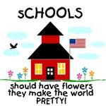 Flowers at School