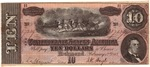 $10 Confederate States Of America