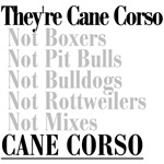 They're Cane Corso