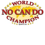No Can Do World Champion shirts