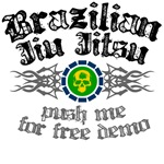 Push me for free demo - BJJ t-shirts