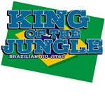 King of the Jungle BJJ tees