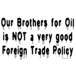 No Brothers For Oil