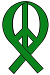 Peace Ribbons (Eco Green)