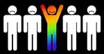 Gay = Happy (inverse)