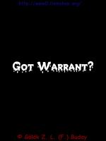 Warrant Stuff.