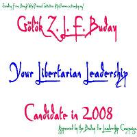 Gölök ZLF Buday for Libertarian Leader