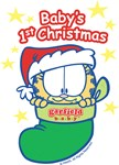 GARFIELD BABY 1ST CHRISTMAS
