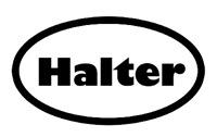 Black Oval Halter