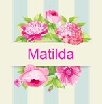 Modern Pink Watercolor Floral