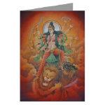 Hindu Goddesses Cards