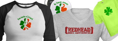 IRISH / REDHEAD SECTION