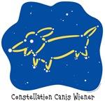 Dachshund Constellation Canis Wiener