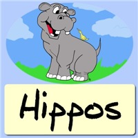 Cartoon Hippo Clothes|Cute Hippopotamus Caricature