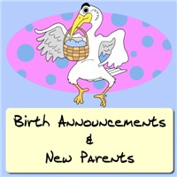 New Baby Cartoons|Birth Announcement Shirts|Gifts