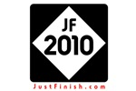 2010 - Just FINISH sign