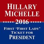 Hillary Clinton / Michelle Obama 2016