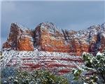 Snowy Sedona 2807