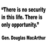 MacArthur Opportunity Quote