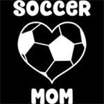 Heart Soccer Mom