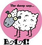 The Sheep Says Baa