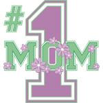 #1 Mom Lilac