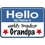 Hello Proud Grandpa