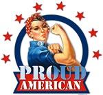 Rosie Riveter Proud American