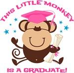 Girl Monkey Graduate