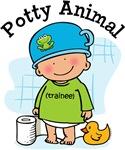 Potty Animal Boy