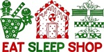 Eat Sleep Christmas Shop