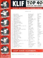 KLIF Playlist   (1964)