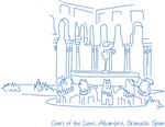 Alhambra's Court of Lions