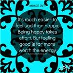 Being Happy Feels Good!