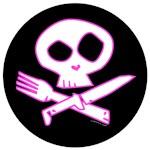 PINK Foodie Skull!