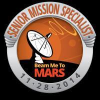 Beam Me To Mars: Senior Mission Specialist