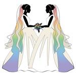 Ballgown Rainbow Brides